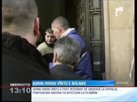 Sorin Ovidiu Vîntu, internat de urgenţă la Spitalul Penitenciarului Rahova