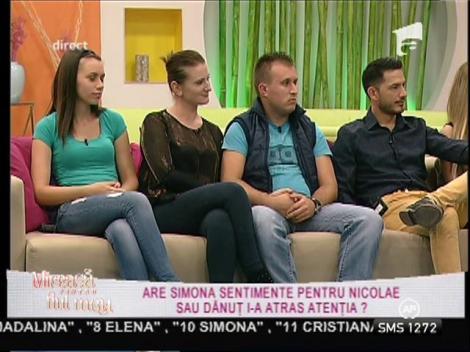 Nicolae, gelos pe relația de prietenie dintre Dănuț și Simona