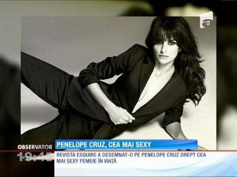 Cea mai sexy femeie din lume este actriţa spaniolă Penelope Cruz