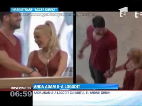 Anda Adam s-a logodit!