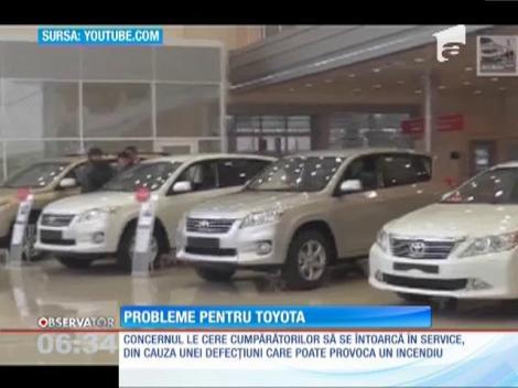 Toyota va chema în service 1,7 milioane de autoturisme