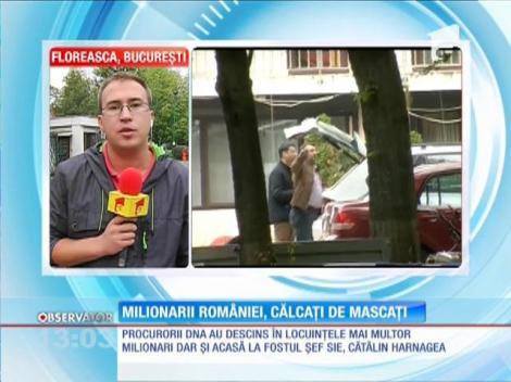Descinderi DNA în locuinţele mai multor milionari ai României
