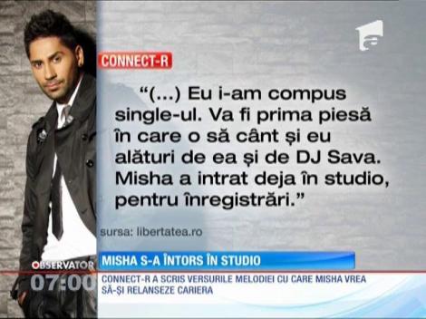 Misha, soția lui Connect-R, s-a întors în studio