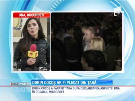Dorin Cocoş a părăsit ţara, după declanşarea anchetei DNA
