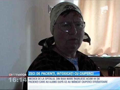 Zeci de pacienți intoxicați cu ciuperci, la Baia Mare
