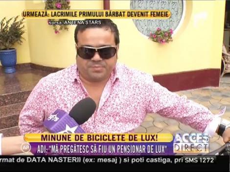 Adrian Minune şi-a cumpărat două biciclete de lux!