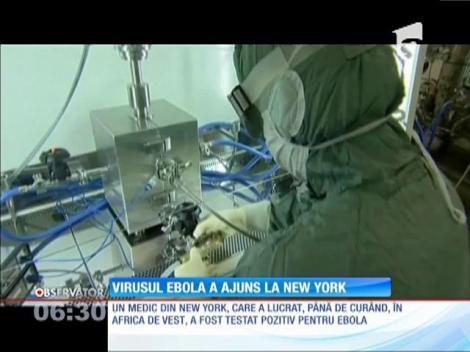 Virusul Ebola a ajuns la New York
