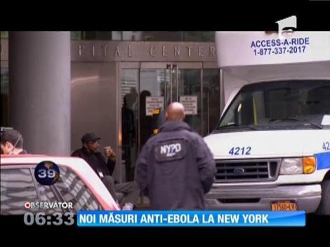 Noi măsuri anti-Ebola la New York