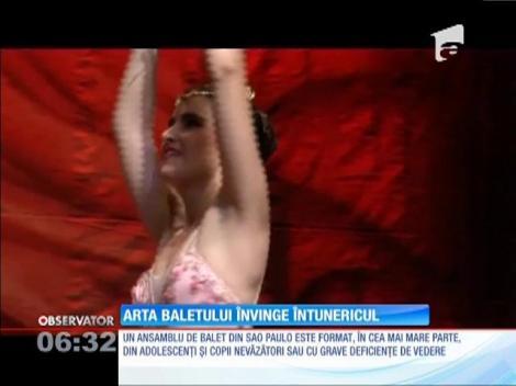 Arta baletului învinge întunericul
