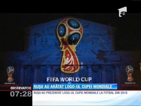 Rușii au prezentat logo-ul oficial al Cupei Mondiale la fotbal din 2018