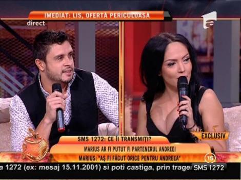 """O surpriză uriaşă, în direct! Andreea Mantea şi Marius, finalistul de la Burlăciţa, din nou împreună: """"Prinţul te iubeşte"""""""