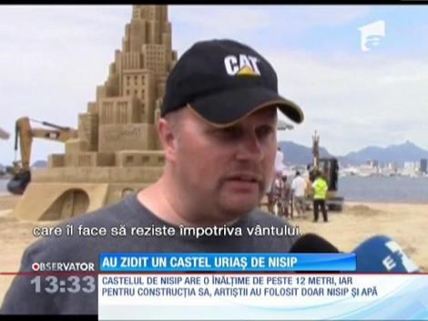 Castel de nisip de Cartea Recordurilor