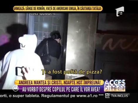 """Andreea Mantea și Cristi Mitrea, din nou împreună! Prima dimineată de """"viitori părinți"""" i-a surprins unul lângă altul (VIDEO)"""