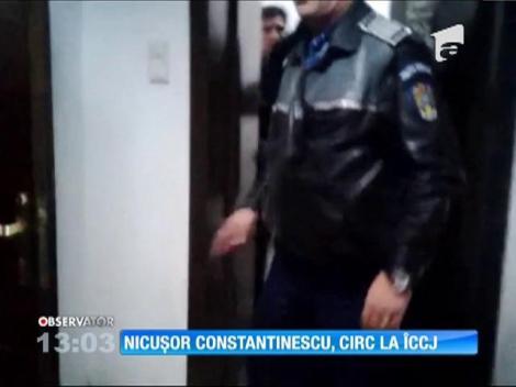 Nicuşor Constantinescu a făcut circ la ÎCCJ din Bucureşti