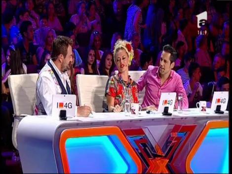 Jurații X Factor, puși pe șotii!