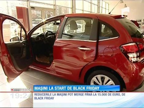Dealeri auto, prezenți în campania Vinerea Neagră