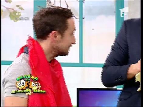 """Provocare inedită la Neatza! Răzvan și Dani, la """"Ruleta cu ouă"""""""