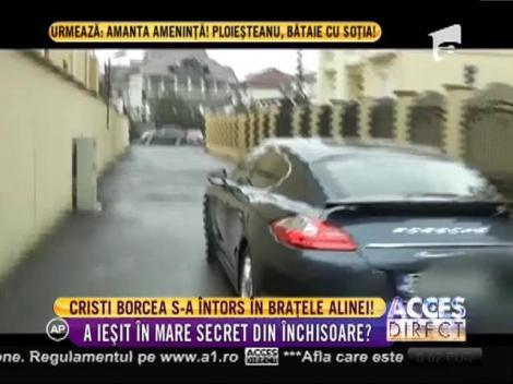 Cristi Borcea s-a întors în brațele Alinei