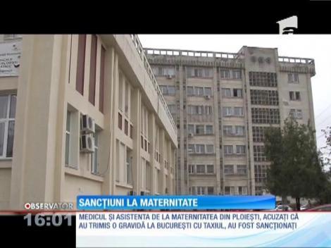 Sancțiuni la maternitatea din Ploiești