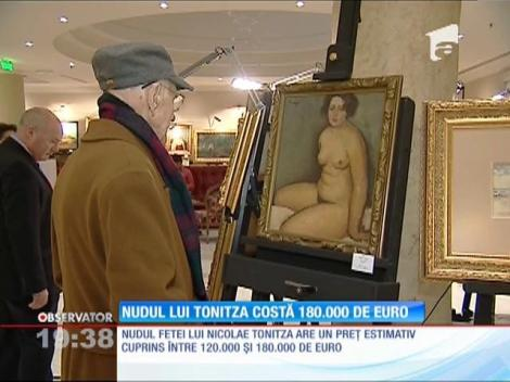 Nudul lui Tonitza costă 180.000 de euro