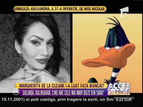 Bianca Drăguşanu şi Margherita de la Clejani se luptă pentru titlul de vedeta cu buzele cele mai mari