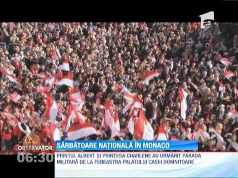 Principatul Monaco şi-a sărbătorit ziua naţională