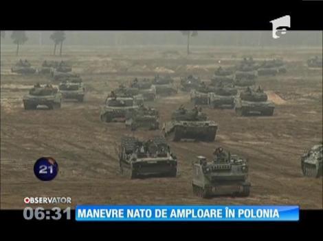 Manevre NATO de amploare în Polonia