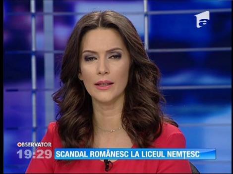 E scandal românesc la liceul nemţesc