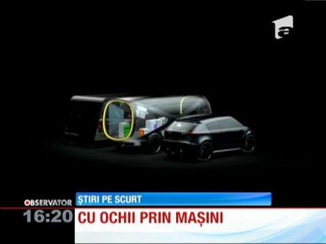 Maşină transparentă