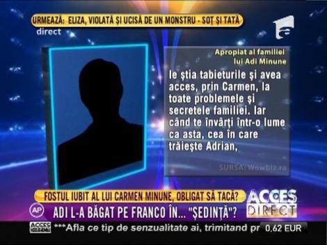 Adrian Minune, deloc iertător cu Franco, fostul iubit al fiicei sale! Ce i-a interzis acestuia!