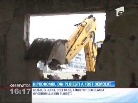 Hipodromul din Ploieşti a fost demolat