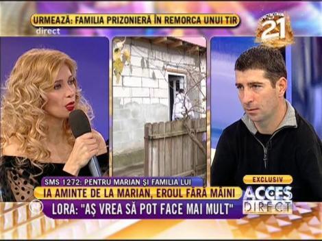 Gigi Becali ajută familia lui Marian