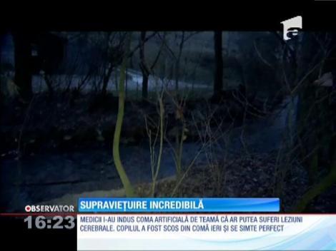 Un copil de doi ani din Polonia a supraviețuit o noapte întreagă la -7 grade Celsius
