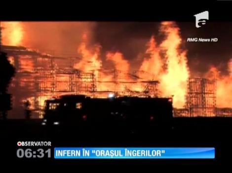 Incendiu în Los Angeles
