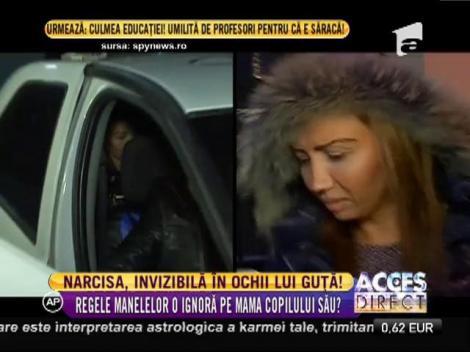 Narcisa, invizibilă în ochii lui Nicolae Guţă