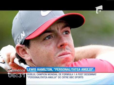 "Britanicul Lewis Hamilton, ""Personalitatea anului"""