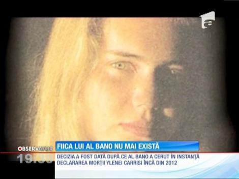 Fiica lui Al Bano şi Romina Power a fost declarată, oficial, moartă