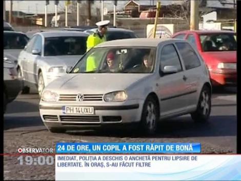 Update / Copilul dispărut din Ploieşti a fost găsit