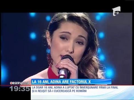 La 16 ani, Adina Răducan are factorul X