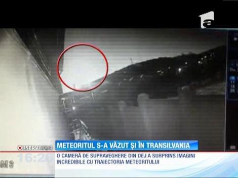Meteoritul s-a văzut şi în Transilvania