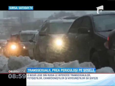 Transsexualii nu mai au voie să conducă maşini pe străzile din Rusia