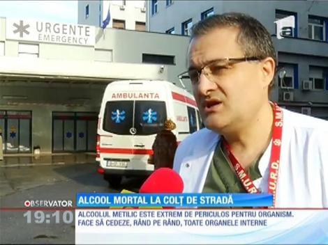 3 morţi, 7 oameni în comă şi alţi 7 internaţi, bilanţul dramatic al consumului de alcool etilic