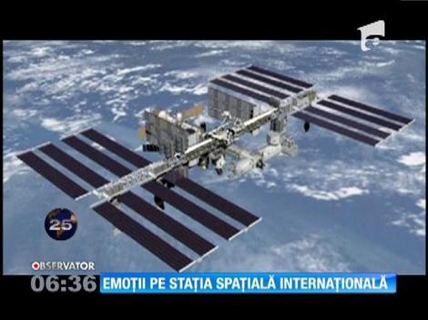 Momente de panică pe Staţia Spaţială Internaţională
