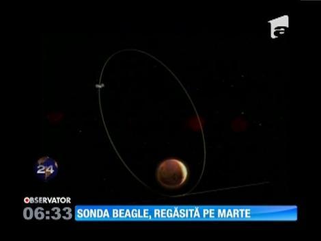 Sonda Beagle, regăsită pe Marte