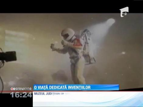 O părte din invențiile lui Iustin Capră s-au strâns la Muzeul Omului din Ploieşti