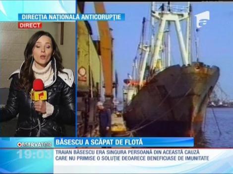 "Dosarul ""Flota"", in care era vizat Traian Basescu, a fost clasat"