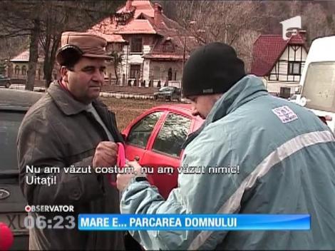 Afacere profitabilă pentru Parohia Ortodoxă cu parcarea din centrul stațiunii Bran