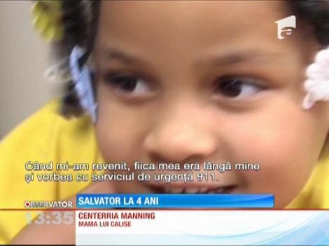 SUA: O fetiță de patru ani și-a salvat mama, care suferise un atac de epilepsie, după ce a sunat la 112