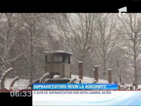Supraviețuitorii revin la Auschwitz