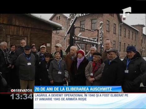 70 de ani de la închiderea lagărului de la Auschwitz